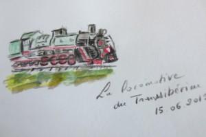 Les locomotives ont chacune leur port d'attache.